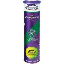 SLAZENGER TENNIS BALLS SLAZENGER WIMBLEDON 4 PACK