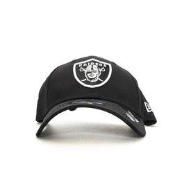 NEW ERA CAP NEW ERA RAIDERS BLACK WHITE
