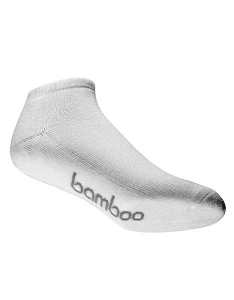 BAMBOO SOCK BAMBOO WHITE PED MENS 10-14  L