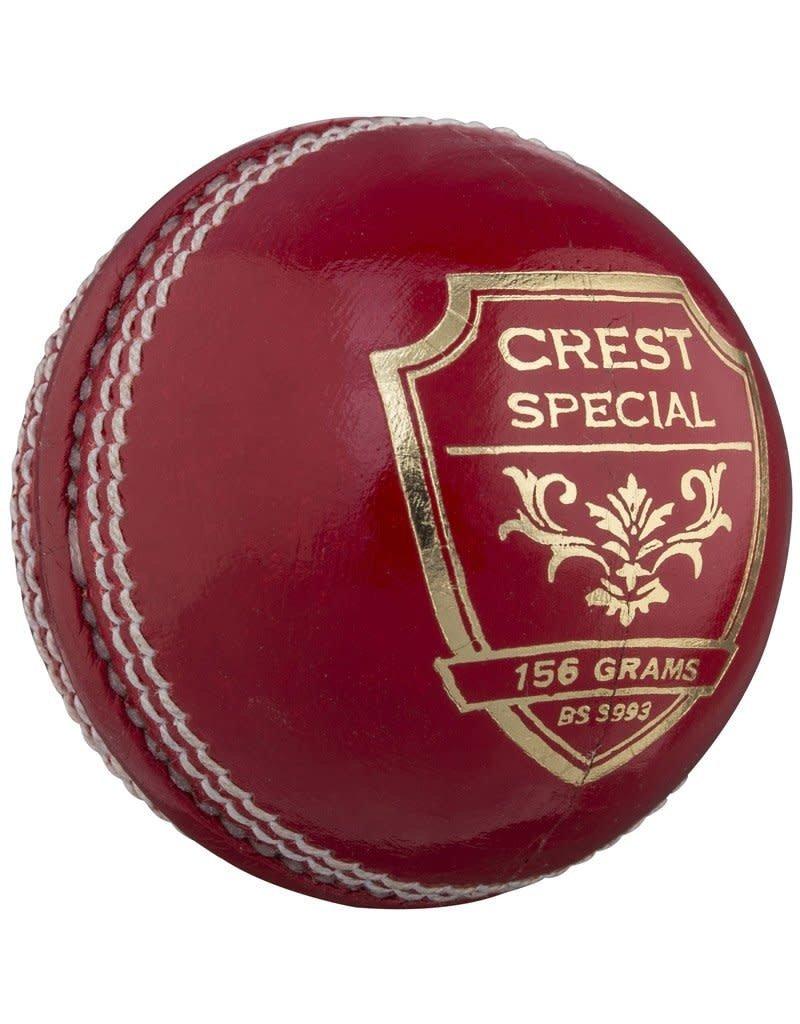 GRAY NICOLLS CRICKET BALL GRAY NICOLLS 156G RED CREST SPECIAL