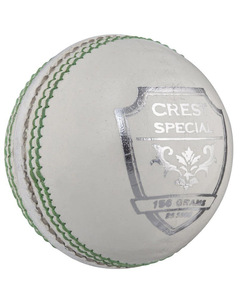 GRAY NICOLLS CRICKET BALL GRAY NICOLLS 156G WHITE CREST SPECIAL