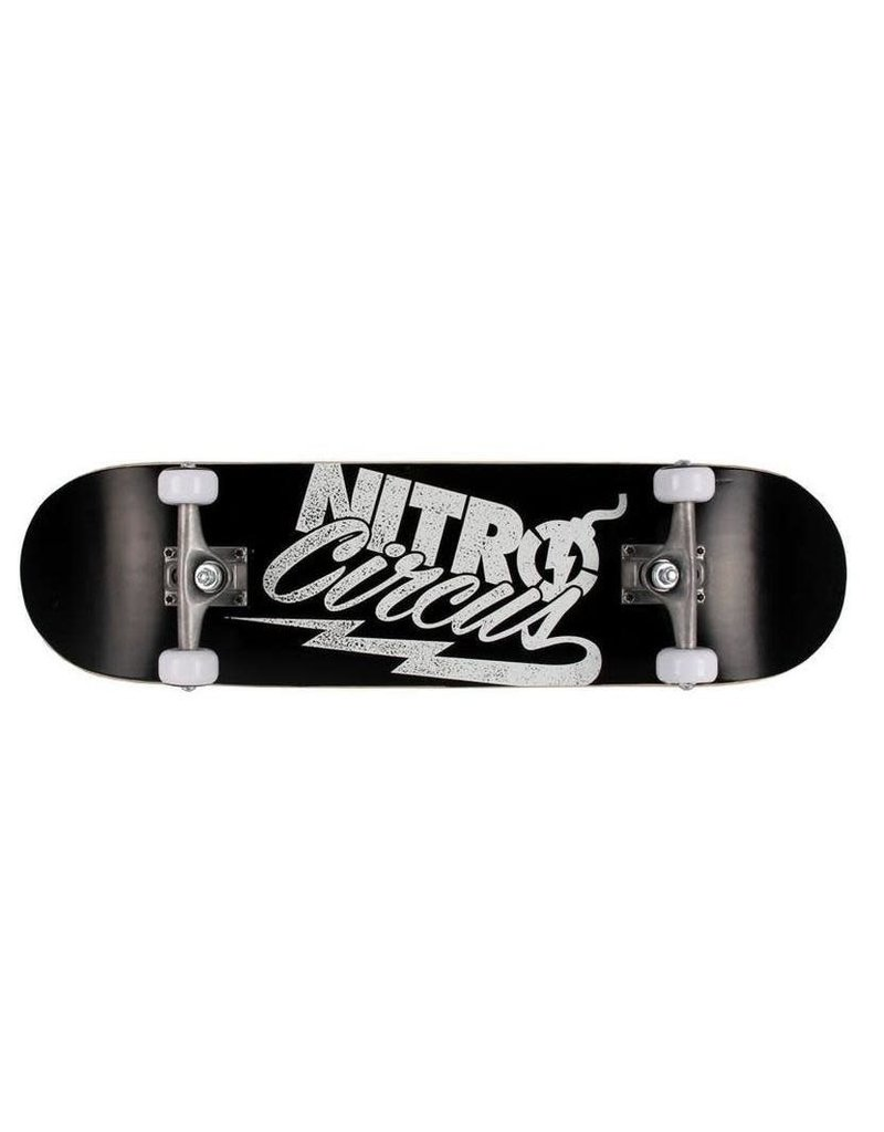 ACTIVE OUT THERE SKATE BOARD NITRO CIRCUS AMPLIFIED BLACK