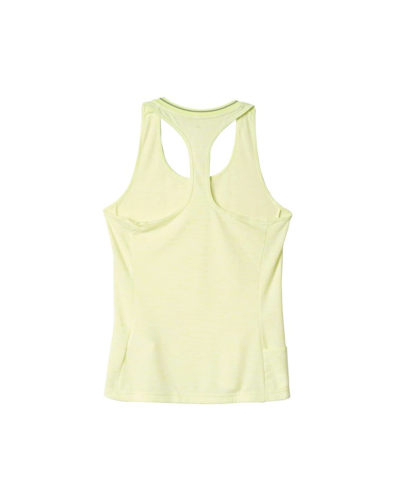 ADIDAS SINGLET ADIDAS WOMENS SN FITTED YELLOW AA5538