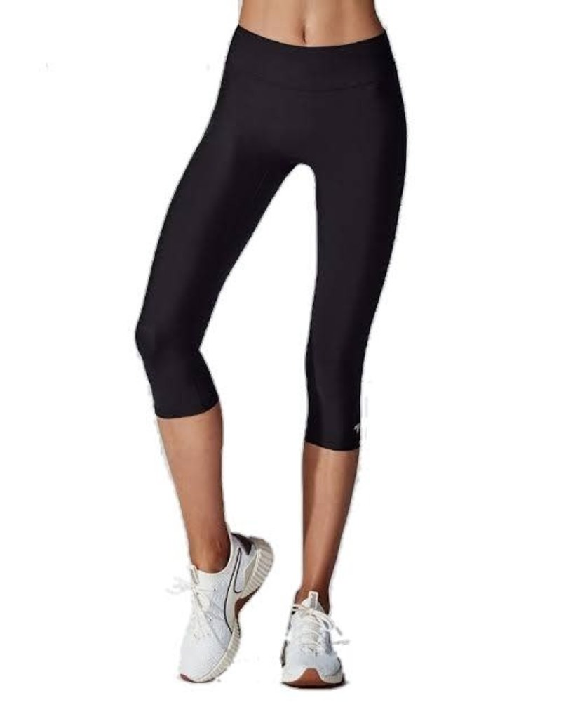 RUNNING BARE TIGHTS RUNNING BARE WOMENS SUPLEX 3/4 BLACK