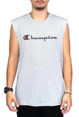 CHAMPION SINGLET CHAMPION MENS SCRIPT MUSCLE GREY