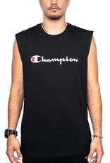 CHAMPION SINGLET CHAMPION MENS SCRIPT MUSCLE BLACK
