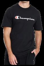 CHAMPION T-SHIRT CHAMPION MENS SCRIPT BLACK
