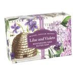 MICHEL DESIGN WORKS MICHEL DESIGN Boxed Soap 4.5oz - Lilac & Violets