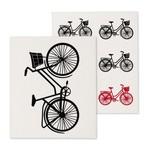 ABBOTT ABBOTT Swedish Dishcloth S/2 - Bicycle