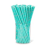 ABBOTT ABBOTT Candy Cane Straws 100pc DNR