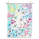 ABBOTT ABBOTT Hummingbird Garden Tea Towel