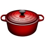 LE CREUSET LE CREUSET Round French Oven 6.7L - Cherry