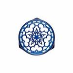 LE CREUSET LE CREUSET Cast Iron Round Trivet 23cm - Blueberry