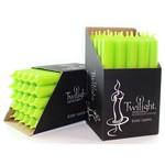 """TWILIGHT TWILIGHT Candle 7"""" - Lime"""