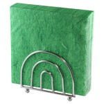 OLD COUNTRY DESIGNS Upright Arch Napkin Caddy - Chrome