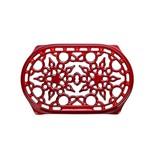 LE CREUSET LE CREUSET Cast Iron Oval Trivet 27cm - Cherry