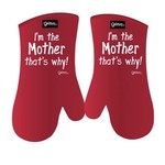 GRIMM GRIMM I'm The Mother Mitts - Red