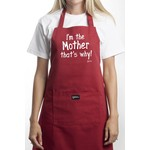 GRIMM GRIMM I'm the Mother Apron - Red