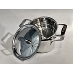 ALL CLAD ALL CLAD D5 Casserole with Steamer & Lid 3qt