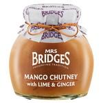 MRS BRIDGES MRS BRIDGES Mango Chutney with Lime & Ginger 290g