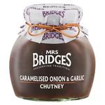 MRS BRIDGES MRS BRIDGES Caramelized Onion with Garlic Chutney 300g