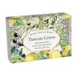 MICHEL DESIGN WORKS MICHEL DESIGN Boxed Soap 4.5oz  - Tuscan Grove DISC
