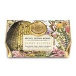 MICHEL DESIGN WORKS MICHEL DESIGN Large Bath Soap - Honey & Clover