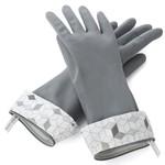 FULL CIRCLE FULL CIRCLE Splash Patrol Latex Gloves - Grey