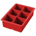 TOVOLO King Cube Ice Tray - Candy Apple