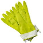 FULL CIRCLE FULL CIRCLE Splash Patrol Latex Gloves - Green