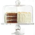 """DANESCO ARTLAND Cake Plate & Dome 11"""""""