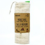 DANESCO DANESCO Cotton Mesh Bags S/3 DNR