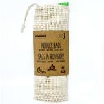 DANESCO DANESCO Cotton Mesh Bags S/3