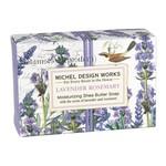MICHEL DESIGN WORKS MICHEL DESIGN Boxed Soap 4.5oz - Lavender Rosemary