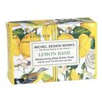 MICHEL DESIGN WORKS MICHEL DESIGN Boxed Soap 4.5oz - Lemon Basil