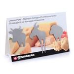SWISSMAR SWISSMAR Animal Cheese Picks S/3
