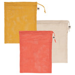 NOW DESIGNS NOW DESIGNS Le Marche Produce Bags S/3 -Coral
