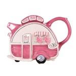BLUE SKY CLAYWORKS BLUE SKY Camper Teapot Pink