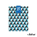 ROLL'EAT ROLL'EAT Boc 'N Roll Sandwich Bag - Blue Tiles DNR