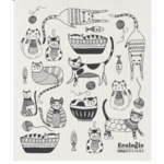 ECOLOGIE ECOLOGIE Purr Party Swedish Dishcloth