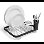 UMBRA UMBRA Sinkin Dish Rack - Smoke / Nickel