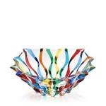 MURANO Ribbon Centerpiece Bowl