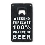 ABBOTT ABBOTT Bottle Opener - Black Weekend Forecast