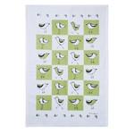 RAIN GOOSE RAIN GOOSE Bird Tea Towel - Green