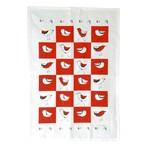 RAIN GOOSE RAIN GOOSE Bird Tea Towel - Red