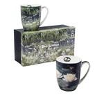 MCINTOSH MCINTOSH Monet Water Lilies Mugs S/2