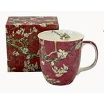 MCINTOSH MCINTOSH Van Gogh Almond Blossom Java Mug - Red