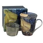 MCINTOSH MCINTOSH Van Gogh Cafe Terrace Mug with Lid