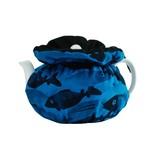 RAIN GOOSE RAIN GOOSE School Fish Tea Cozy - Turquoise