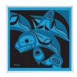 BILL HELIN Killer Whale Trivet Boxed